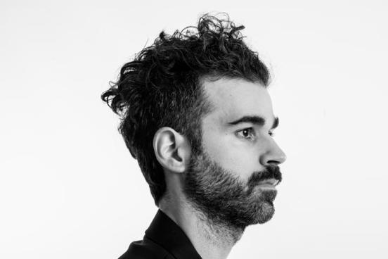San Francisco, CA- December 3, 2014 Mike Deni of Geographer Portrait session for new album. Photo Credit: Victoria Smith / RETNA LTD